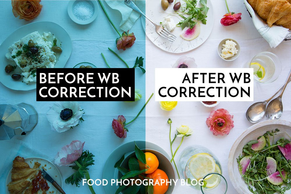 What is white balance? | Food Photography Blog