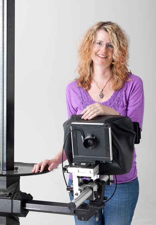 This is the camera I shoot on the most for my jobs - Sinar 4x5 with a Phase One digital back.