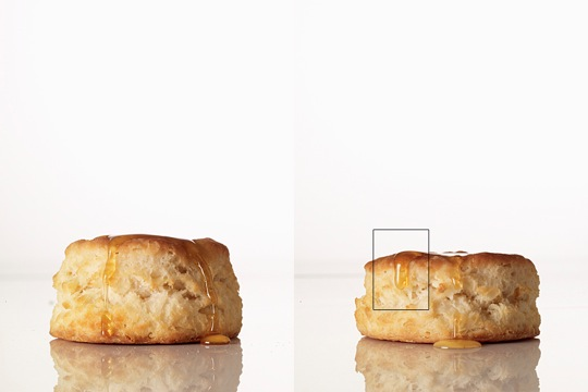 Honey on a biscuit base images | Food Photography Blog