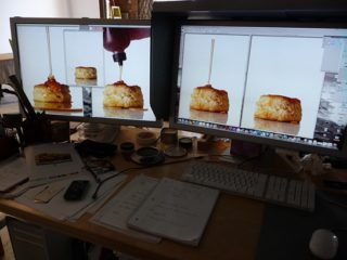 Retouching a Food Shot – They make it look so easy!
