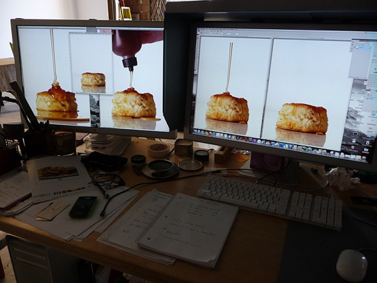 Computer set up | Food Photography Blog