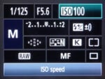 When to change your ISO setting for exposure