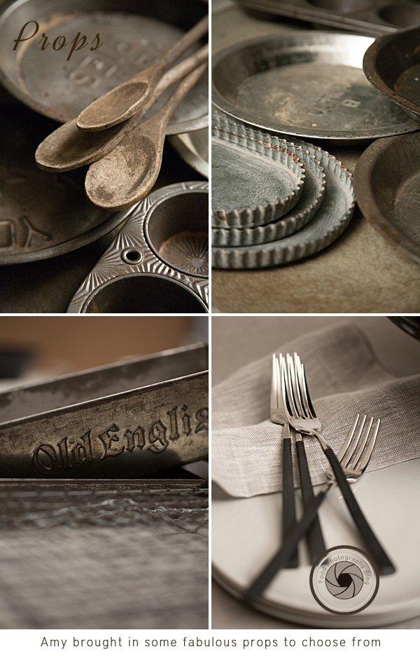 Props for our food shoot | Food Photography Blog