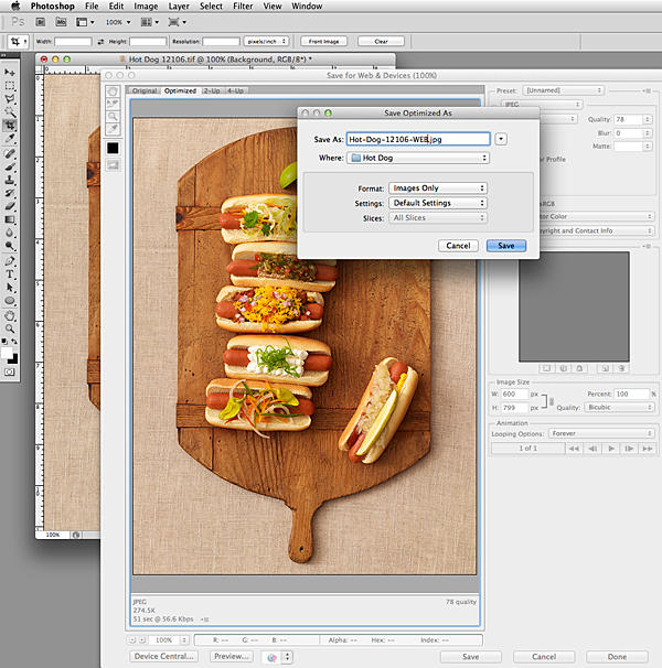 File Naming | Food Photography Blog