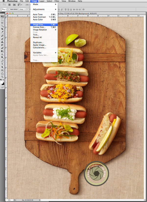 Photoshop Image Size | Food Photography Blog