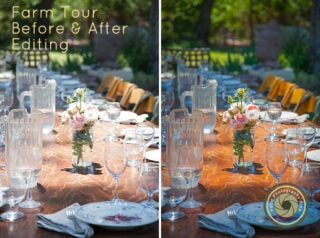 How to Edit Images Shot on Location – Before and After in Adobe Lightroom