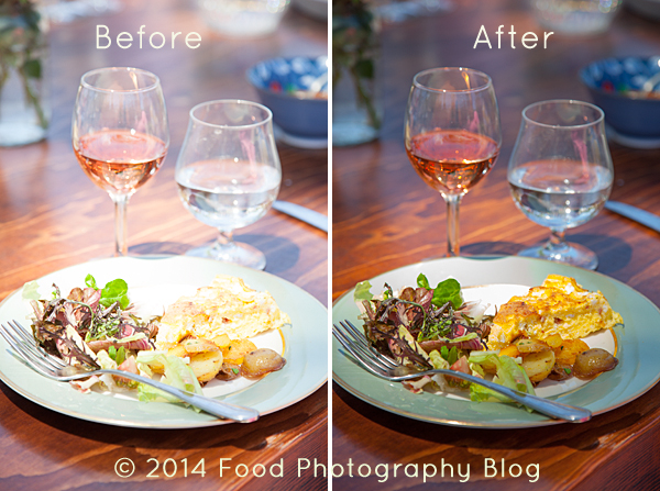 Editing in Lightroom | Food Photography Blog