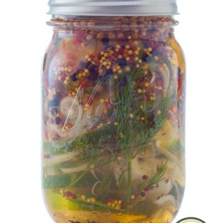 Easy Refrigerator Pickle Recipes – and How I Photographed Some of Them
