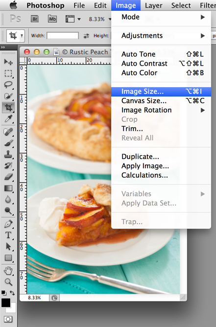 File Size in Photoshop | Food Photography Blog