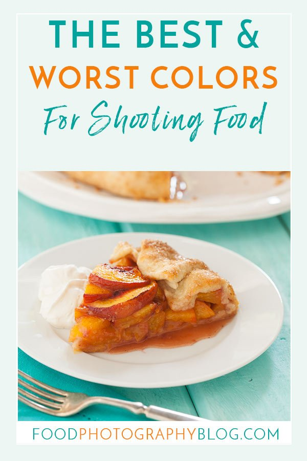 Title Image The Best And Worst Colors To Photograph Food Showing a slice of peach pie