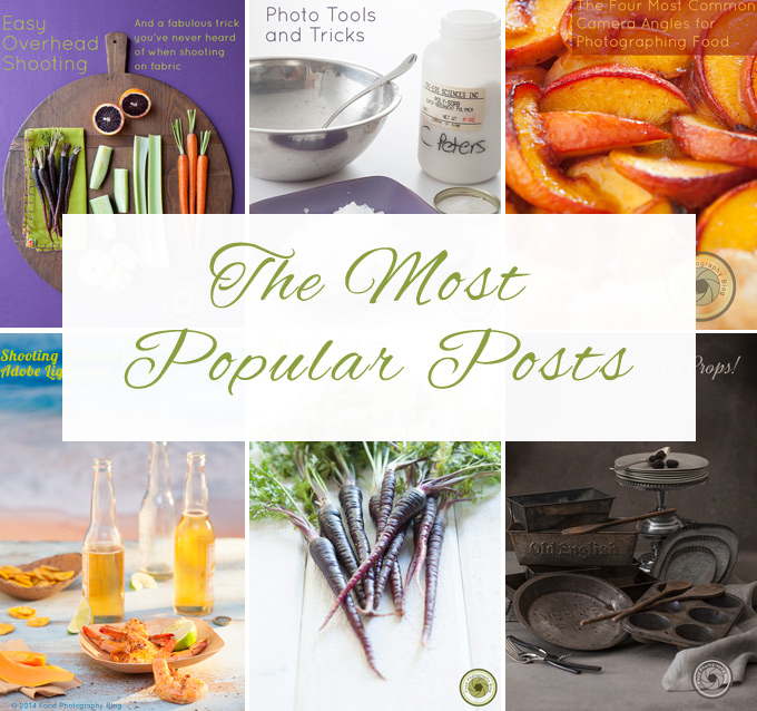Most Popular Food Photography Blog Posts
