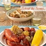 Behind the Scenes of Lobster Bake | Food Photography Blog