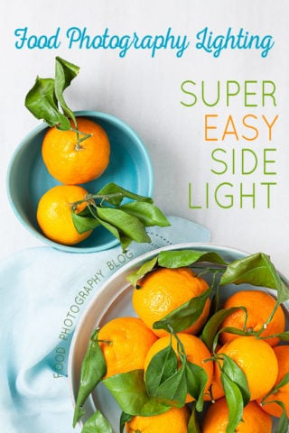Food Photography Lighting – Easy Artificial Side Lighting