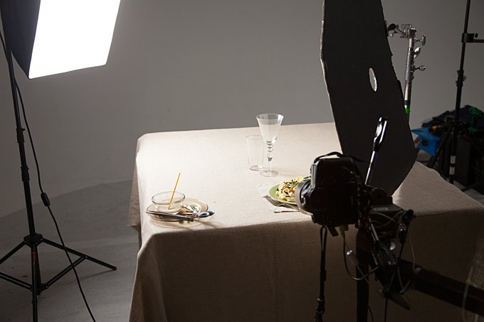 Side Light Set Food Photography| Food Photography Blog & Food Photography Lighting - Easy Artificial Side Light Part Two azcodes.com