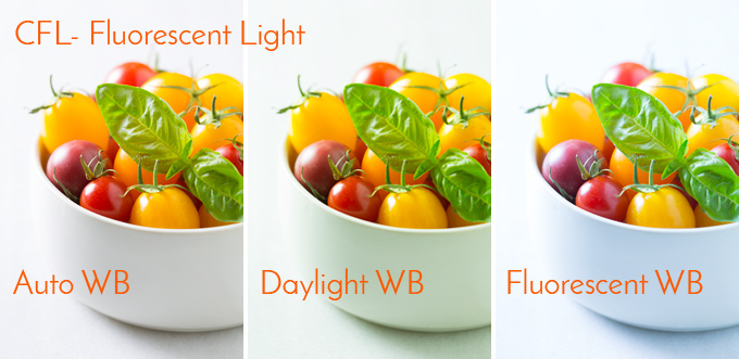 CFL Color Balance Test | Food Photography Blog