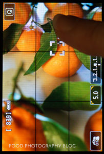 Live View Focusing | Food Photography Blog
