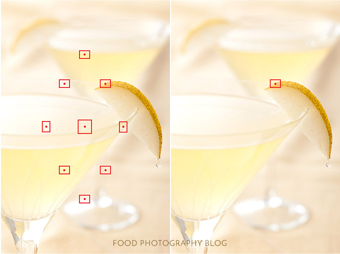 How To Focus Your Camera | Food Photography Blog