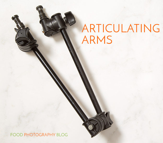Bogen Articulated Arm | Food Photography Blog