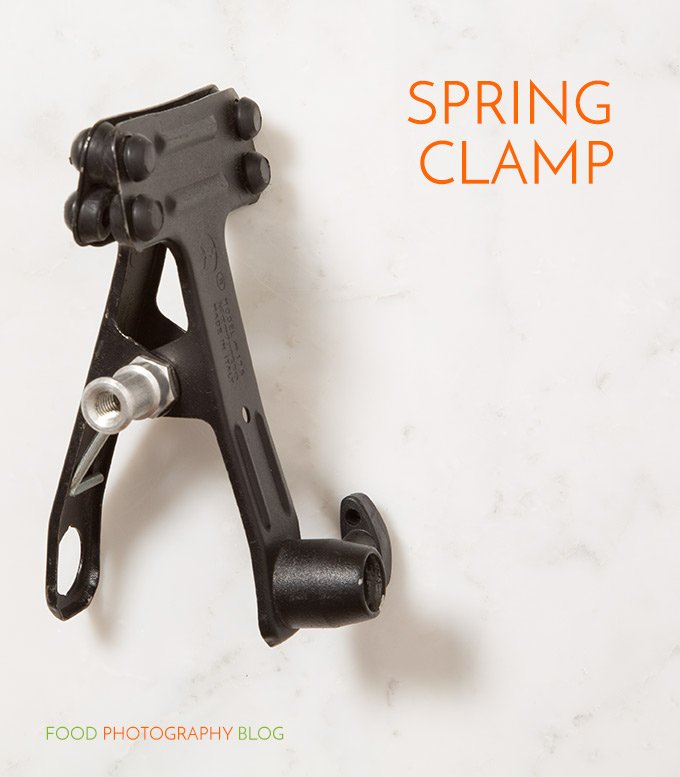 Bogen Spring Clamp | Food Photography Blog