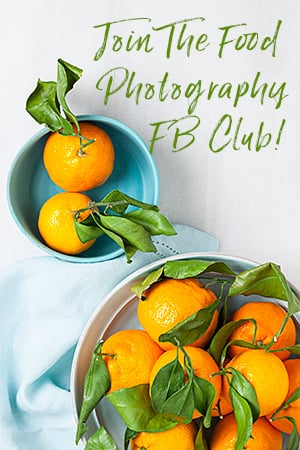 Join The Food Photography Club