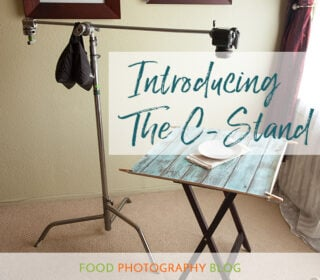 What Is A CStand | Food Photography Blog