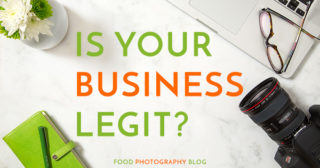 How To Legally Become A Food Photographer