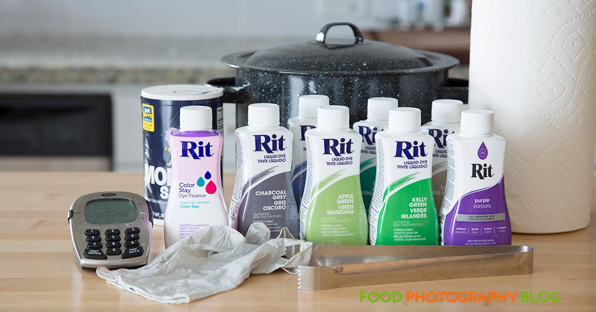 Rit Dyes | Food Photography Blog