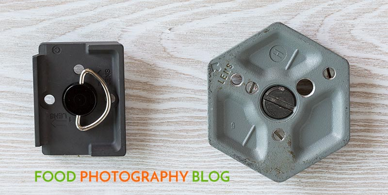 Tripod Quick Release Plates | Food Photography Blog
