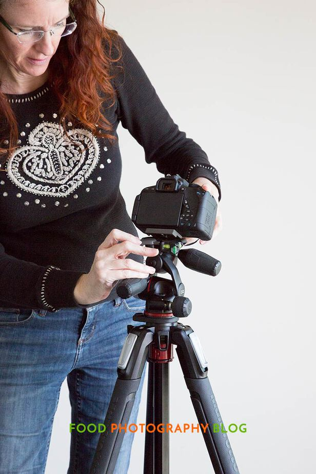 Setting Up Tripod | Food Photography Blog