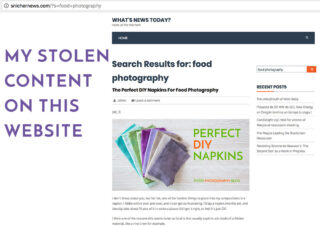 Someone Stole My Image Online   Food Photography Blog
