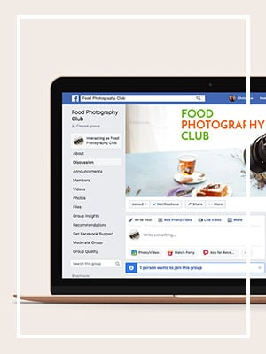 Food Photography Club Facebook Group