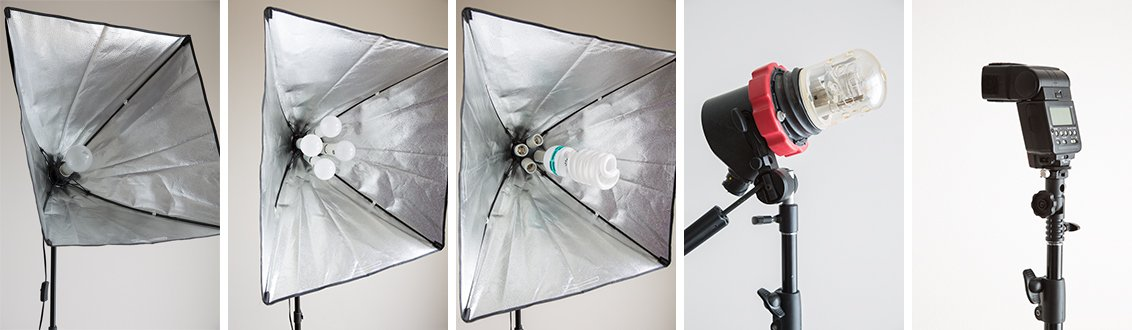 Artificial Light Options For Food Photography
