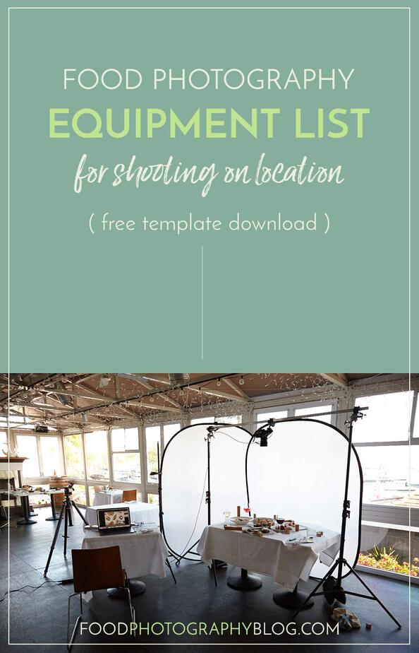 Food Photography Equipment List | Food Photography Blog