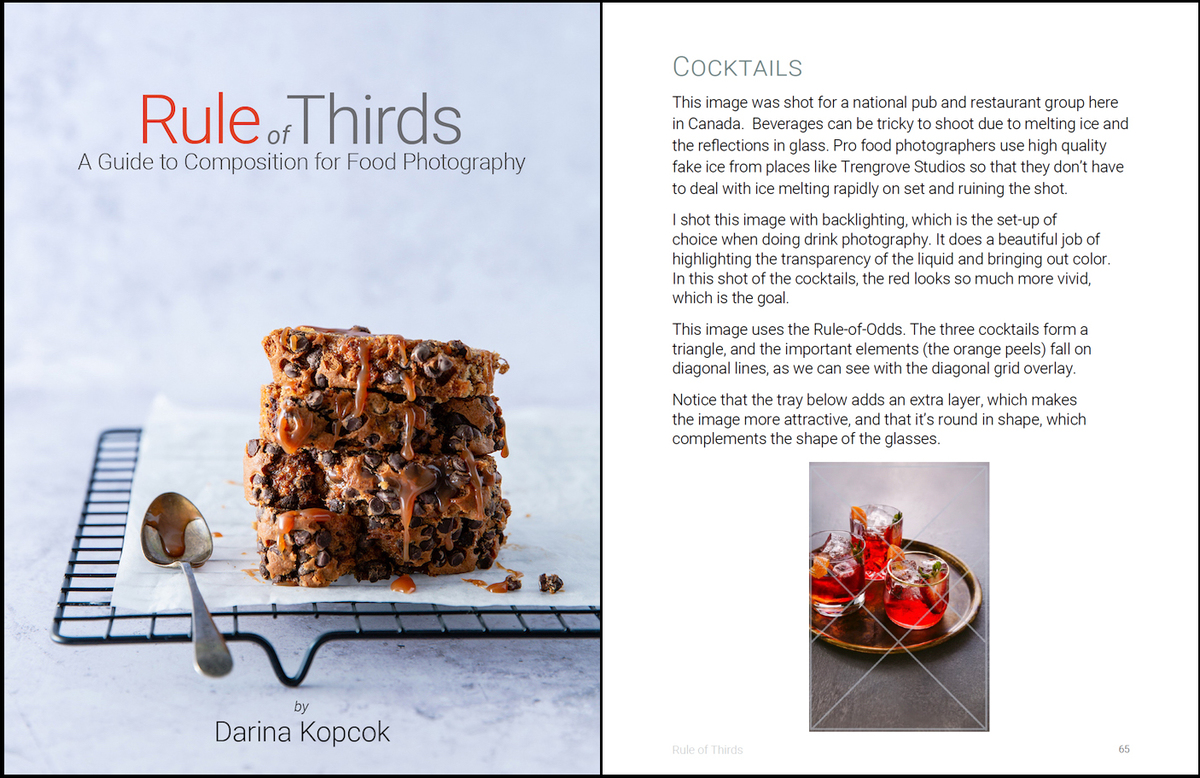 Rule Of Thirds A Guide To Composition For Food Photography Food Photography Blog