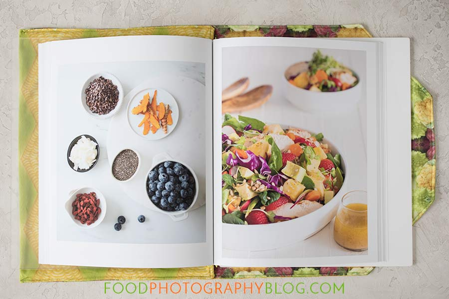 Printed Food Photography Book Opened | Food Photography Blog