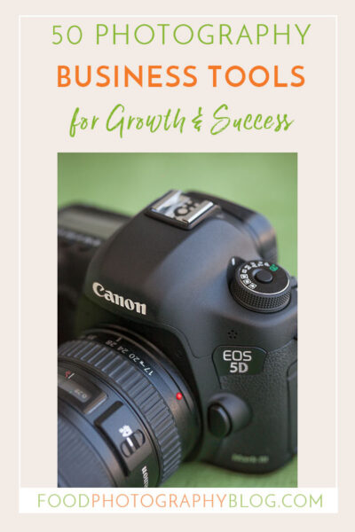 50 Photography Business Tools | Food Photography Blog