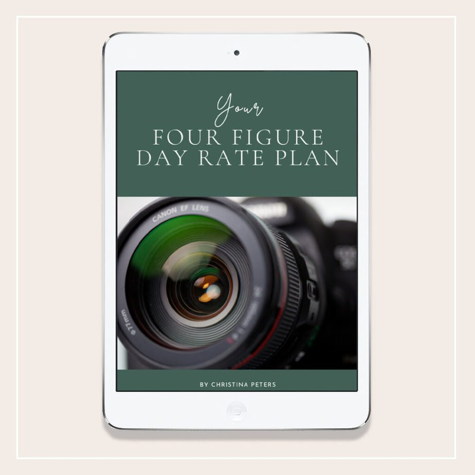 Ebook Cover Image With Text Your 4 Figure Day Rate Plan