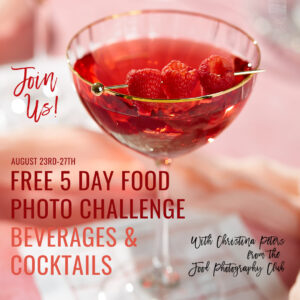 5 Day Bev Challenge Image With Red Cocktail